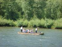 Floßfahrt auf dem Dunajec
