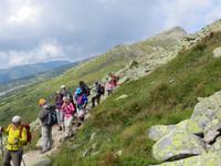auf dem Hauptkamm der Niederen Tatra