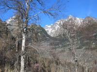 Blick vom Hrebienok zur Lomnitzer Spitze