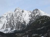 auf dem Hrebienok: Lomnitzer Spitze