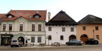 Marktplatz von Spisská Sobota
