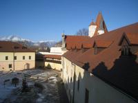vom Wehrgang der Burg Kezmarok