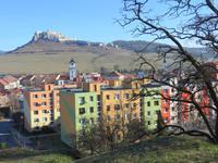 Blick von Spisska Kapitual auf die Zipser Burg*