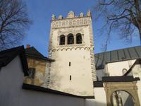 Kezmarok: katholische Kirche mit Renaissanceturm