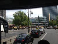 Fanmeile aufgrund des DFB-Pokalfinales in Berlin