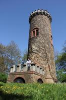Pause am Bismarckturm