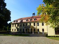 der Innenhof des Schlosses