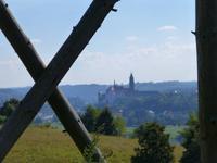 die Albrechtsburg hat sich schon ein Stück entfernt