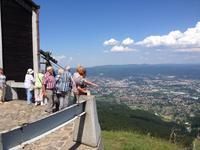 Blick auf die Stadt Liberec