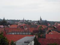 Blick auf Quedlinburgs Altstadt