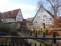 Advent in den Höfen in Quedlinburg