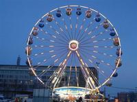 Schöner Tagesabschluss - Weihnachtsmarkt-Besuch Leipzig