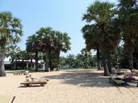 26.01.2016: Pattaya - Strand des Ravindra Beach Resort Hotels