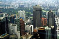 Ausflug Kuala Lumpur - Blick vom Turm