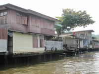 0093 Bootsfahrt in den Klongs in Bangkok