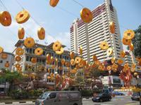0392 Chinatown in Singapur
