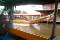 Bootsfahrt durch die Khlongs