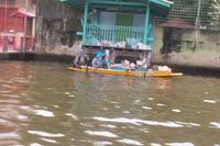 Händler auf den Khlongs