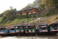 251 der Hafen von Pakbeng