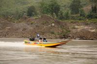 263 und Speedboote kommen uns entgegen