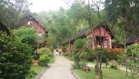 Hotelanlage am Inle See