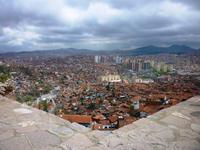Blick von der Zitadelle auf die Stadt Ankara