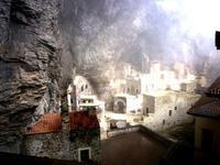 Klosteranlage (im 5.Jh. angelegt) in Sumela