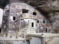 Grottenkapelle mit Fresken im griech.-byzantinischen Stil