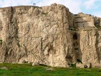 Urartäer-Festung, von alt-van aus gesehen (~700 v. Chr.)