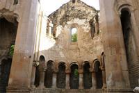 20.10.11, Apsis der georgischen Kirche Ishan