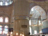 Innenraum der Blauen Moschee