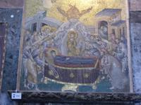 Mosaik Sterbeszene Maria Theresa