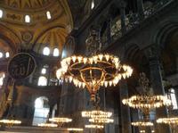 in der Hagia Sophia