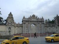 Eingang zum Sultanspalast am Bosporus