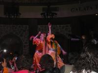 türkische Tänzerinnen im Galataturm