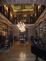 Im Pera Palace Hotel in Istanbul