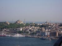 Istanbul von oben ~ Hagia Sophia & Sultan-Ahmet-Moschee