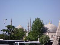 Minarette der Sultan-Ahmet-Moschee