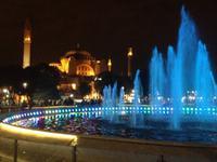 Hagia Sophia bei Nacht