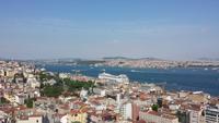 Blick vom Galataturm zum Bosporus