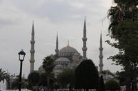 Sultan Ahmet Moschee oder Blaue Moschee in Istanbul