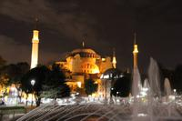 Hagia Sophia Istanbul bei Nacht