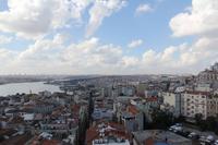 Blick vom Galataturm auf Istanbul