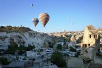 11.09.11 Ballonfahrten über dem Tal von Göreme