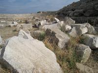 antikes Stadion in Perge