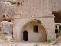 Zelve-Tal - Moschee mit christlichen Zügen