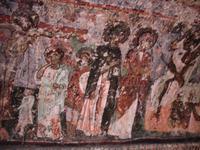 Soganli-Tal - im Inneren der Kirche der Schwarzen Köpfe