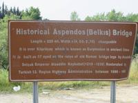 Aspendos Brücke