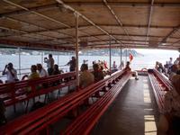 gemeinsame Bootsfahrt