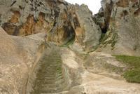 Unterer Teil der Festung